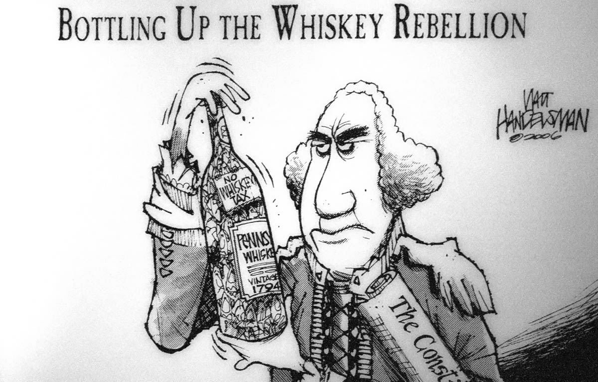 the whiskey rebellion essay