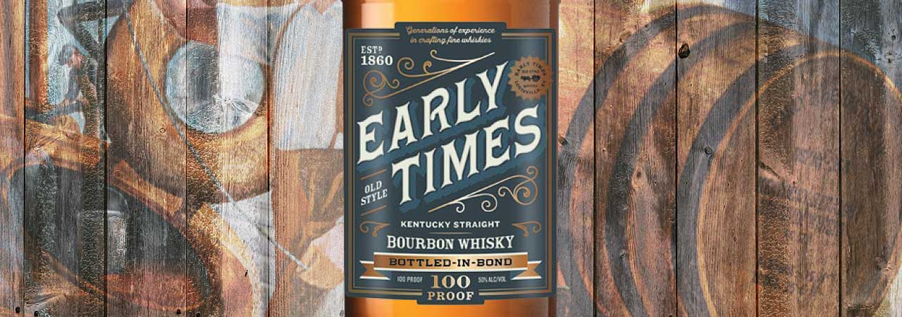 Early Times Bottled-In-Bond Bourbon Review Header