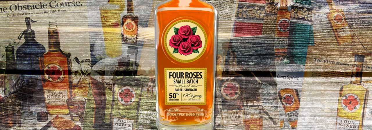 2017 Four Roses Limited Edition Small Batch Bourbon Al Young Header