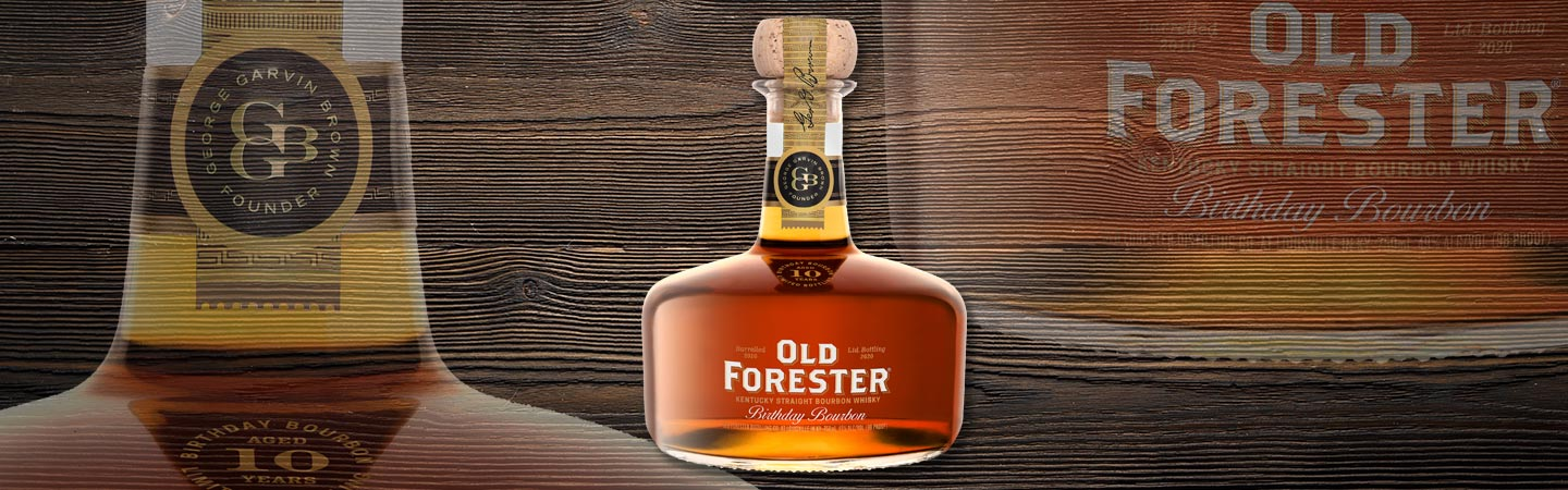 Old Forester 2020 Birthday Bourbon Review Header